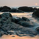 Pacific Sunset at Kalaloch - Olympic N.P. by Mark Heller