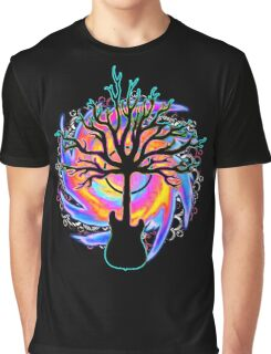 """Psychedelic Sonic Cyclone""   ( surreal guitar tree art) Graphic T-Shirt"