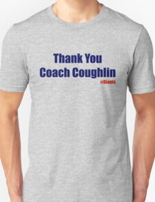 Thank You Coach Coughlin T-Shirt