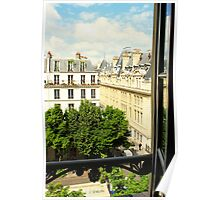 Out the Parisian Window Poster