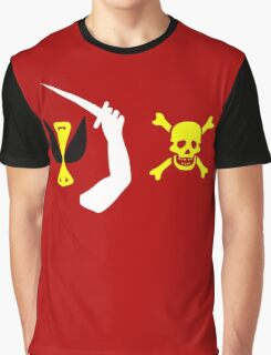 Christopher Moody Pirate Flag Graphic T-Shirt