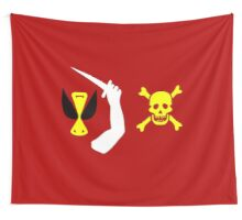 Christopher Moody Pirate Flag Wall Tapestry