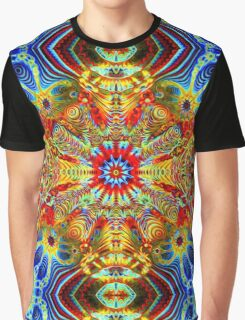 Cosmic Creatrip2 - Psychedelic trippy visuals Graphic T-Shirt