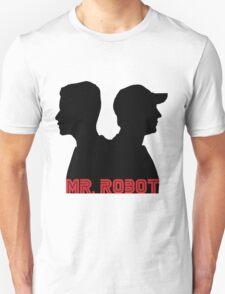 Mr. Robot silhouettes Unisex T-Shirt