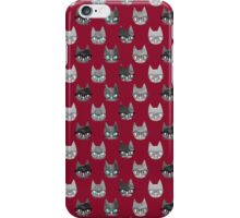 Clever Cats (Colorway 2) iPhone Case/Skin