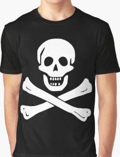 Samuel Bellamy Pirate Flag Graphic T-Shirt