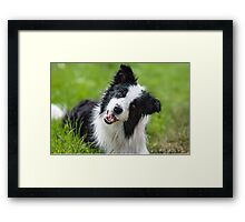 The Tilt Framed Print