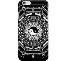 Mandala Yin Yang (black) iPhone Case/Skin