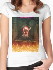 Dragon's Lair Women's Fitted Scoop T-Shirt