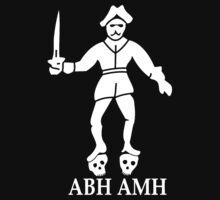 Bartholomew Roberts Pirate Flag Baby Tee