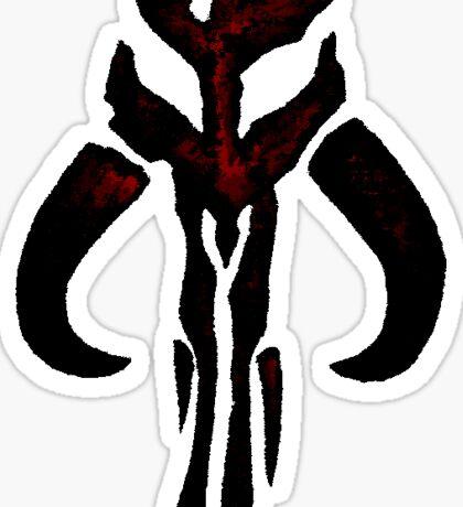 Mandolorian Bounty Hunter Sticker