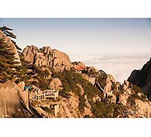 Lookout over Orange Rock Photographic Print