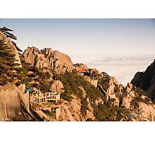 Lookout over Orange Rock Photographic Print