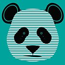 panda stripes by asyrum