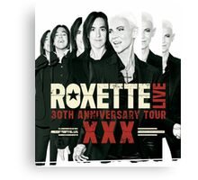 Roxette 30th Anniversary Tour by amdya Canvas Print