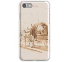 Sir Edwin Henry Landseer, R.A. - ARRIVAL AT A BALL IN GLENFESHIE {INVERNESS-SHIRE} - THE DUCHESS OF BEDFORD AND PARTY iPhone Case/Skin
