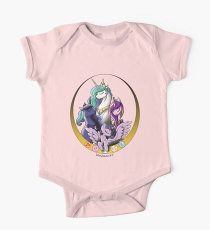 My Little Pony Princesses One Piece - Short Sleeve