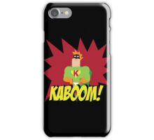 Kaboom guy  iPhone Case/Skin