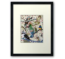 Pretty Birdies Framed Print