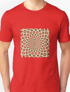 Red And Green Hallucinogenic Kaleidoscope Unisex T-Shirt