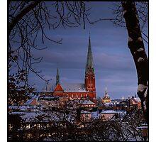 Midwinter Stockholm Photographic Print