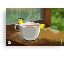 Common Grass Yellow Canvas Print