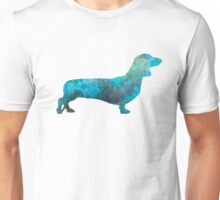 Female Dachsund in watercolor Unisex T-Shirt
