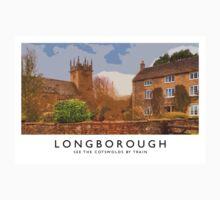 Longborough (Railway Poster) Kids Tee