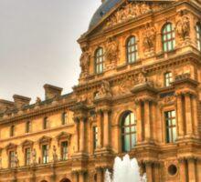 I Love The Louvre Sticker