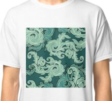 Ornate  leaves pattern Classic T-Shirt