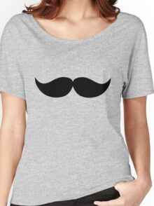 Icon mustache Women's Relaxed Fit T-Shirt