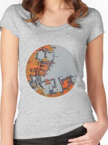 cipher n. 5 (original sold) Women's Fitted Scoop T-Shirt