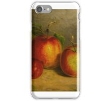 William Rickarby Miller -  A STUDY FOR APPLES FROM NATURE iPhone Case/Skin