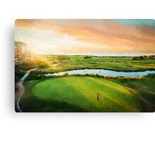 Golfing the Gong  (OG) Canvas Print