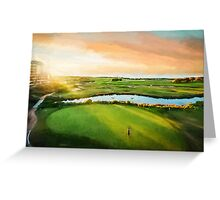 Golfing the Gong  (OG) Greeting Card