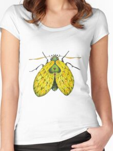 Moth  (original sold) Women's Fitted Scoop T-Shirt