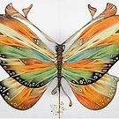 butterfly  (original sold) by federico cortese