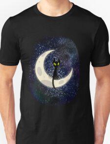 The Moon's Cat Unisex T-Shirt