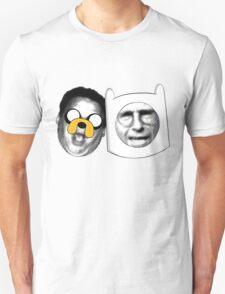 Jeff the Dog, Larry the Human Unisex T-Shirt