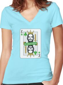 Conor McGregor - King of Dublin Women's Fitted V-Neck T-Shirt