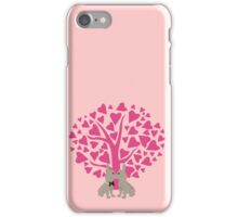 Kissing French Bulldogs! Cute Valentines Day Design iPhone Case/Skin