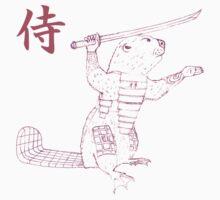 Samurai Beaver One Piece - Short Sleeve