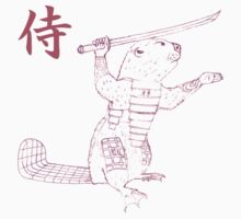 Samurai Beaver One Piece - Short Sleeve