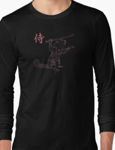 Samurai Beaver Long Sleeve T-Shirt