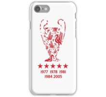 Liverpool FC - Champions League Winners iPhone Case/Skin