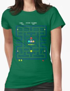 Arcade game Womens Fitted T-Shirt