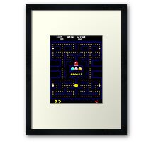 Arcade game Framed Print