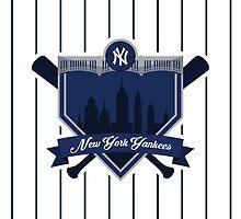 New York Yankees - Badge / Alternate Logo by Seyidaga