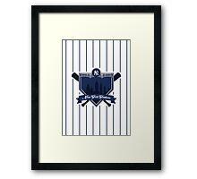 New York Yankees - Badge / Alternate Logo Framed Print