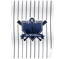 New York Yankees - Badge / Alternate Logo Poster